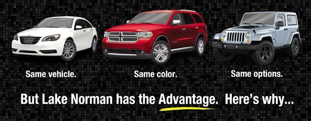 Lake Norman Chrysler Dodge Jeep RAM Advantage | Cornelius, NC