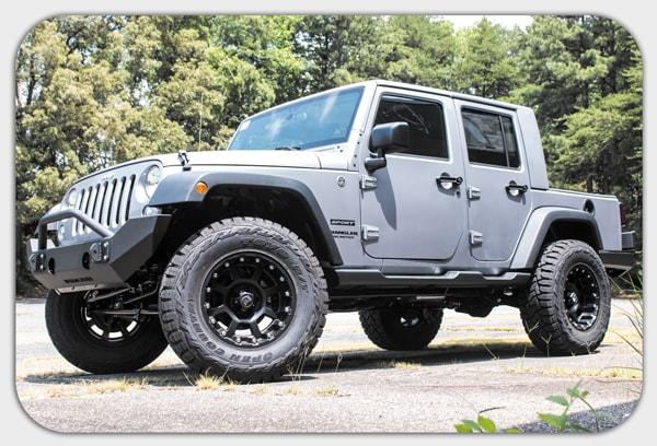 build your own custom jeep in cornelius nc lake norman