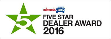 edminds.com 5-Star Dealer Award 2016