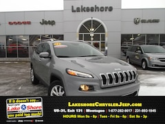 Certified pre-owned cars, trucks, and SUVs 2015 Jeep Cherokee Limited 4x4 SUV for sale near you in Montague, MI