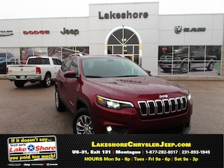 New Chrysler, Dodge, Jeep, and Ram vehicles 2019 Jeep Cherokee LATITUDE PLUS 4X4 Sport Utility for sale near you in Montague, MI
