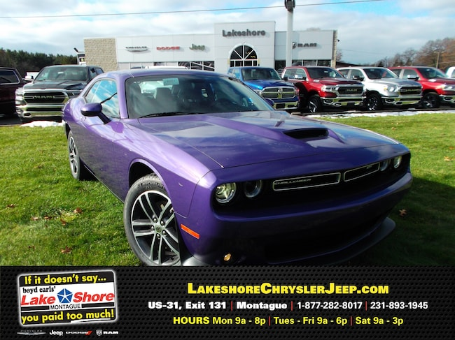 New vehicle 2019 Dodge Challenger GT AWD Coupe For Sale near you in Montague, MI