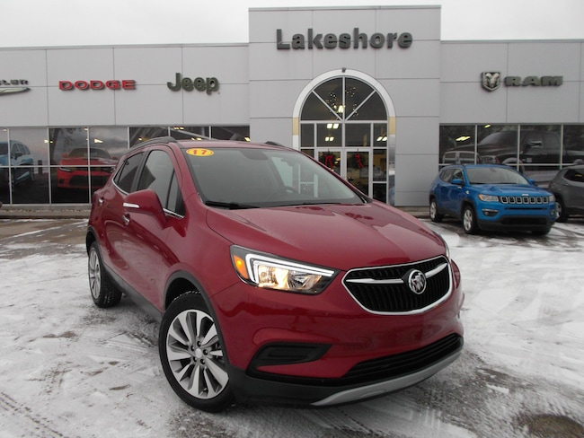 Used vehicle 2017 Buick Encore Preferred SUV For Sale near you in Montague, MI