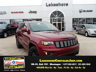 New Chrysler, Dodge, Jeep, and Ram vehicles 2019 Jeep Grand Cherokee ALTITUDE 4X4 Sport Utility for sale near you in Montague, MI