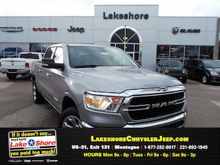 New Chrysler, Dodge, Jeep, and Ram vehicles 2019 Ram 1500 BIG HORN / LONE STAR CREW CAB 4X4 5'7 BOX Crew Cab for sale near you in Montague, MI