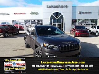 New Chrysler, Dodge, Jeep, and Ram vehicles 2019 Jeep Cherokee HIGH ALTITUDE 4X4 Sport Utility for sale near you in Montague, MI