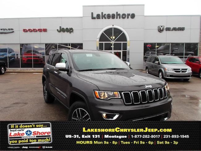 New vehicle 2019 Jeep Grand Cherokee LIMITED 4X4 Sport Utility For Sale near you in Montague, MI