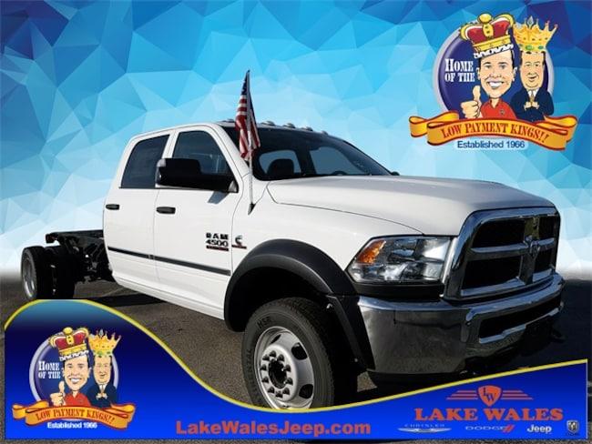 2018 Ram 4500 TRADESMAN CHASSIS CREW CAB 4X4 197.4 WB Crew Cab