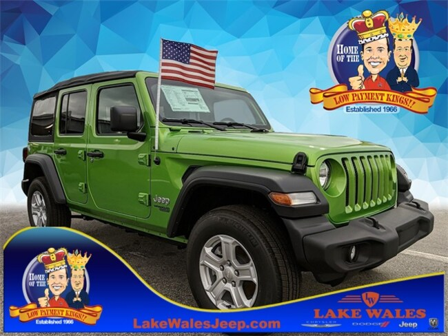 2018 Jeep Wrangler Unlimited UNLIMITED SPORT S 4X4 Sport Utility