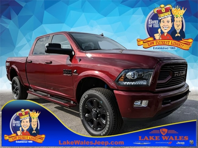 2018 Ram 2500 LARAMIE CREW CAB 4X4 6'4 BOX Crew Cab