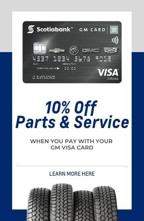 10% Off Parts & Service