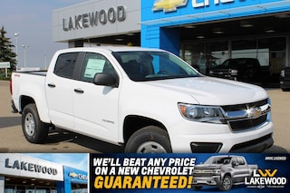 2019 Chevrolet Colorado 4WD Work Truck Truck Crew Cab