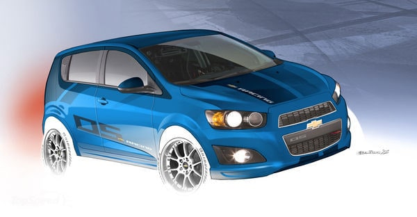 Sonic Performance Parts At Lakewood Chevrolet