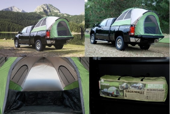 Napier Outdoors The World Leader In Vehicle Camping Tents And The Best Selling Sportz Truck Tents The Sportz Truck Tent 57 Series Assembles In The Back