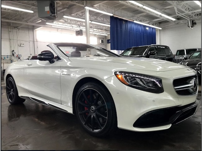2017 Mercedes-Benz S-Class 63 AMG, CUIR, NAVI, EXTENDED WARRANTY!! *$1,295* Cabriolet