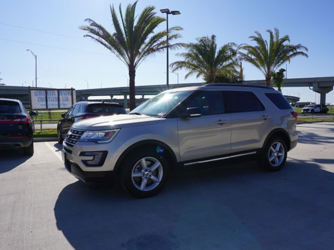 Used 2017 Ford Explorer XLT SUV for sale in Kenner, LA