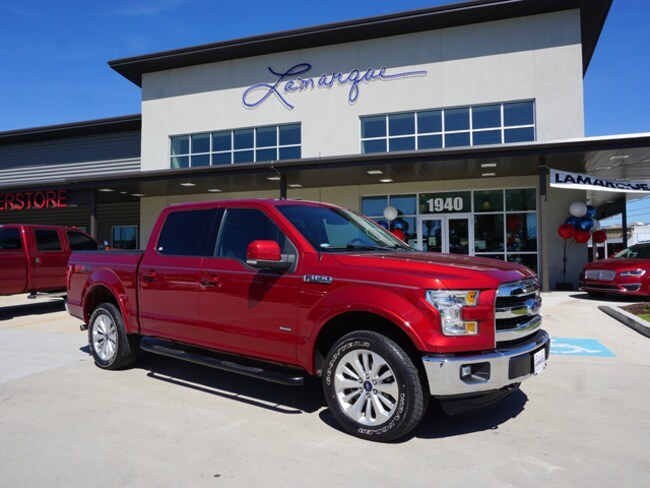Used 2016 Ford F-150 Truck SuperCrew Cab for sale in Kenner, LA