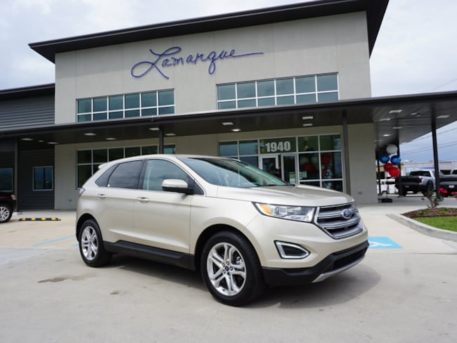Used 2018 Ford Edge Titanium SUV for sale in Kenner, LA