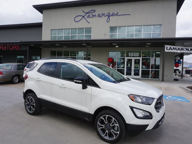 NEW 2019 Ford EcoSport SES SUV for sale/lease Kenner, LA