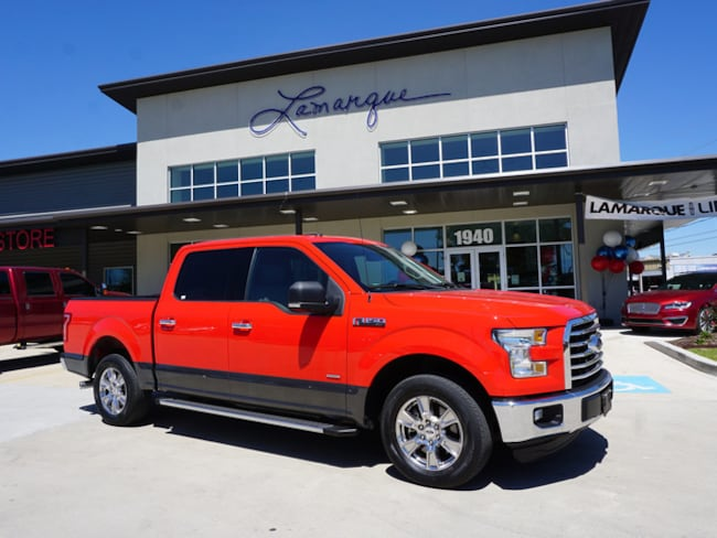 Used 2016 Ford F-150 XLT Truck SuperCrew Cab for sale in Kenner, LA
