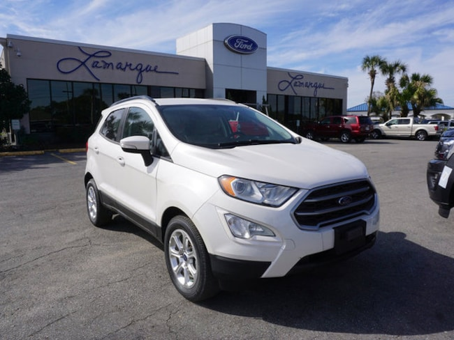 NEW 2018 Ford EcoSport SE SUV for sale/lease Kenner, LA