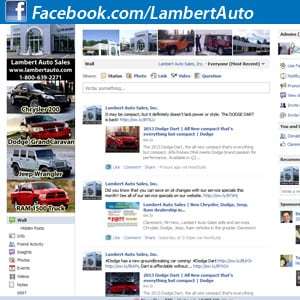 Lambert Auto Sales, Claremont NH, Jeep Dealer, Dodge Dealer