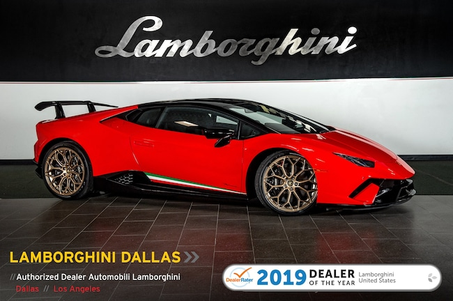 Pre-Owned 2018 Lamborghini Huracan Performante Coupe Dallas TX