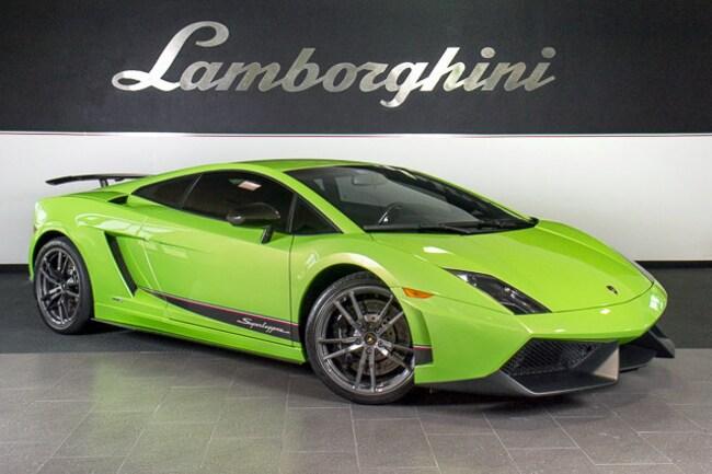 Pre-Owned 2012 Lamborghini Gallardo LP570-4 Superleggera Coupe Dallas TX