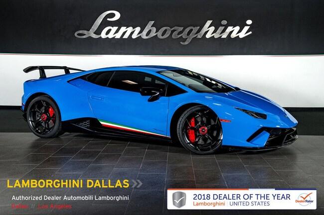 Pre-Owned 2018 Lamborghini Huracan Performante Coupe Dallas TX