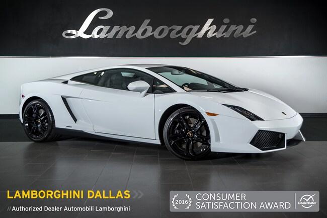 Pre-Owned 2013 Lamborghini Gallardo LP 550-2 Coupe Dallas TX