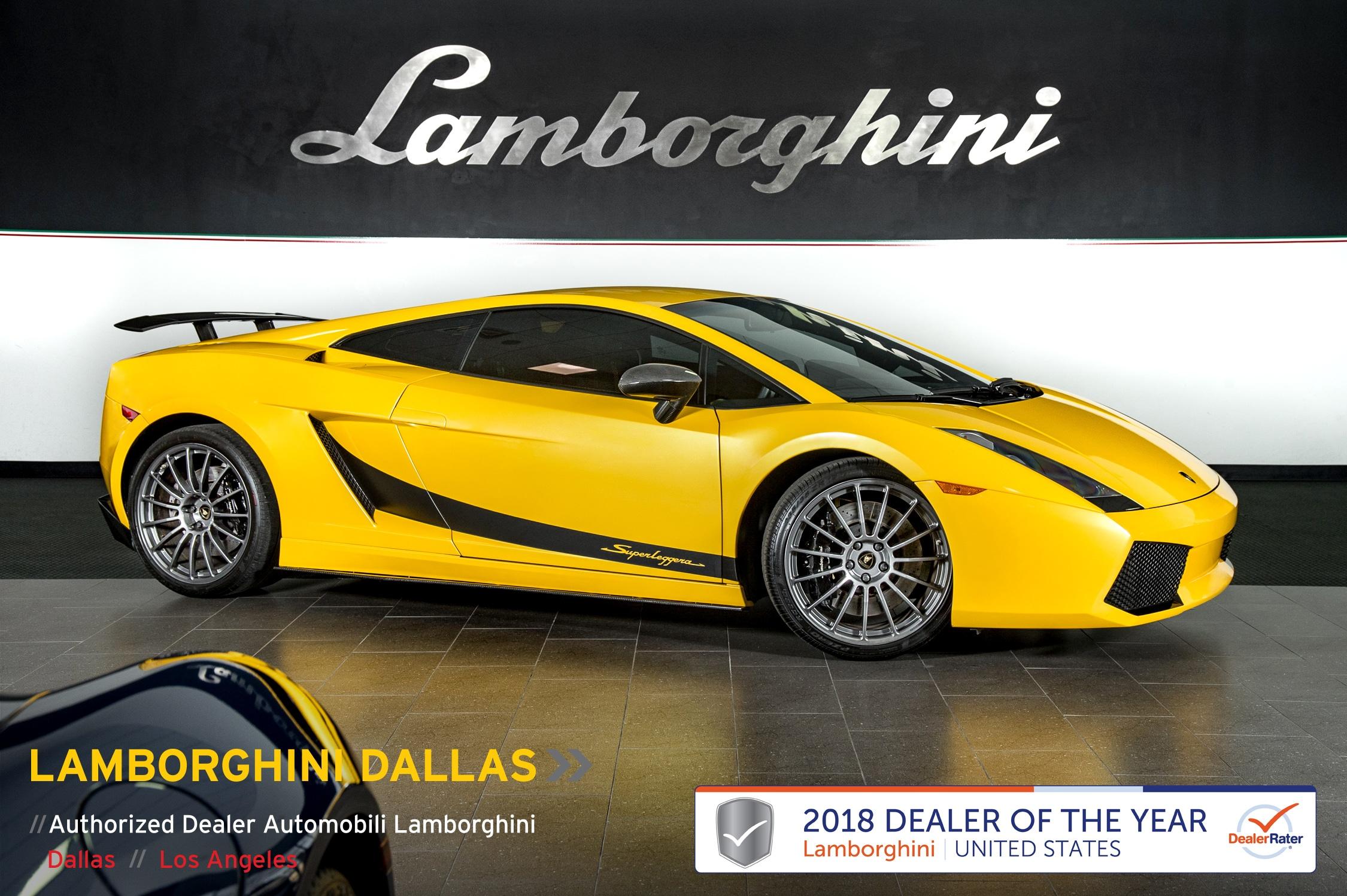 2008 Lamborghini Gallardo Superleggera Coupe