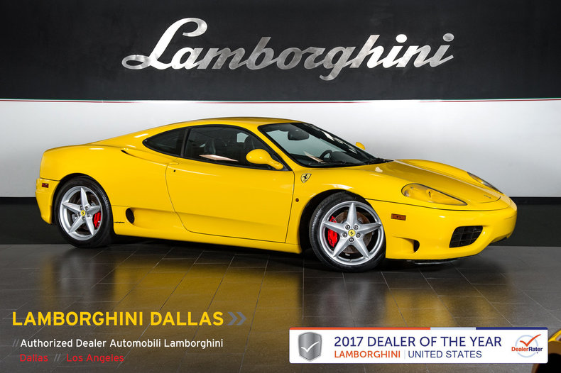 Used 2000 Ferrari 360 For Sale Richardson Tx Stock 17l0016b Vin Zffyu51a4y0121882