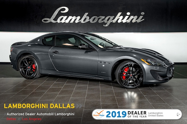 Pre-Owned 2017 Maserati Gran Turismo SP Coupe Dallas TX