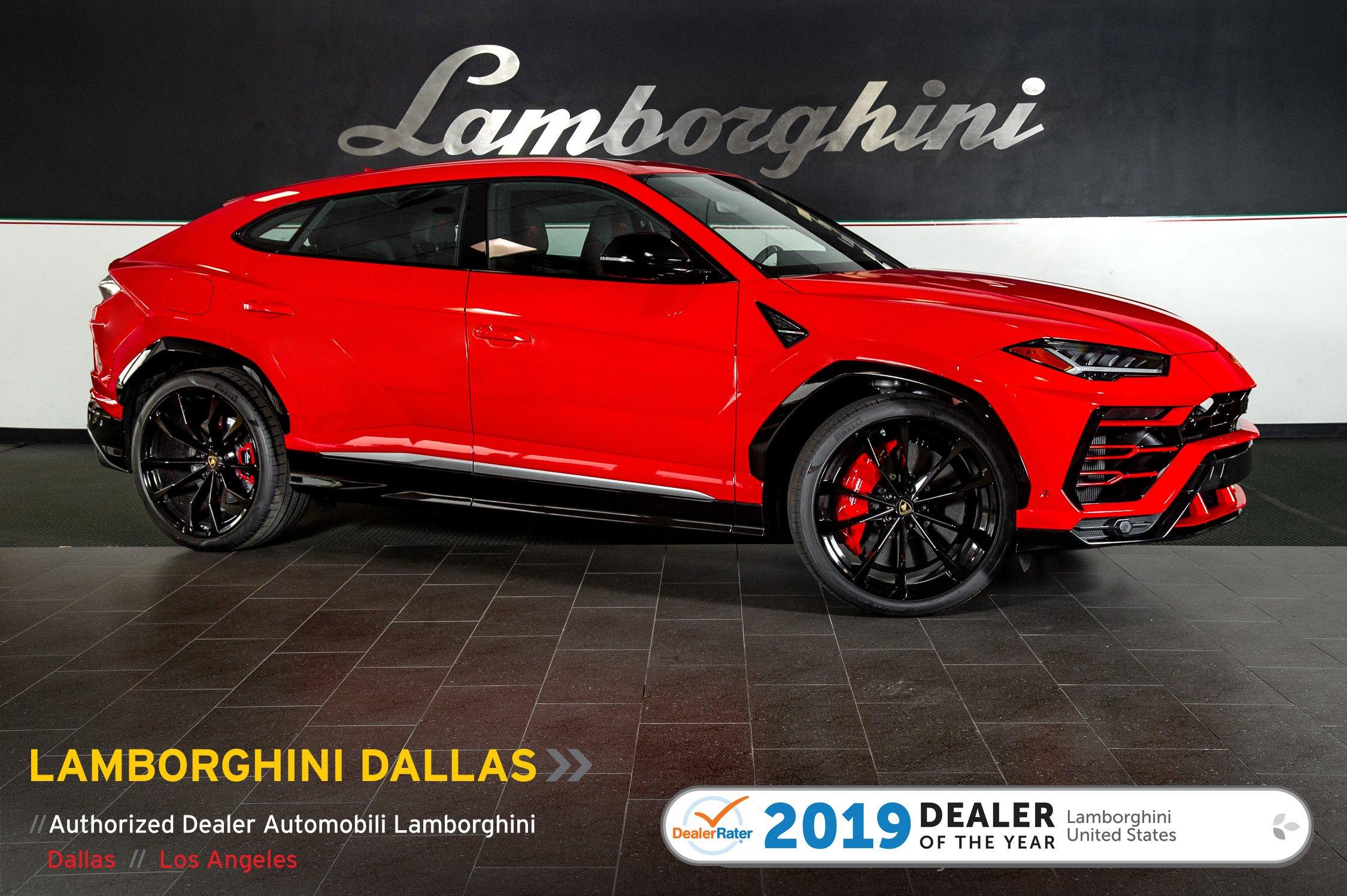 Used 2019 Lamborghini Urus For Sale Richardson Tx Stock Lt1293 Vin Zpbua1zl9kla04219