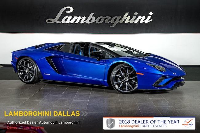 New 2019 Lamborghini Aventador S Roadster near Dallas, TX