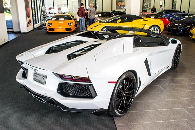 ... Pre Owned 2014 Lamborghini Aventador LP 700 4 Roadster Dallas TX ...