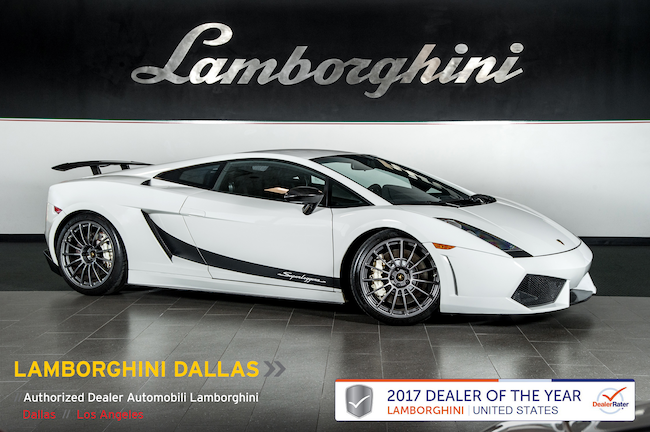Pre-Owned 2008 Lamborghini Gallardo Superleggera Coupe Dallas TX
