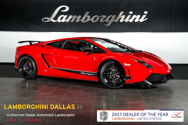 Pre-Owned 2011 Lamborghini Gallardo LP 570-4 Superleggera Coupe Dallas TX