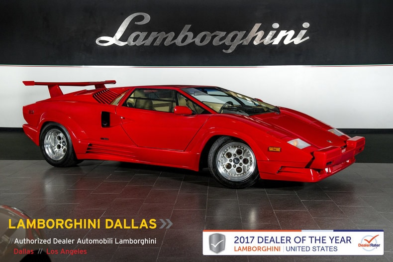 Used 1989 Lamborghini Countach For Sale Richardson,TX