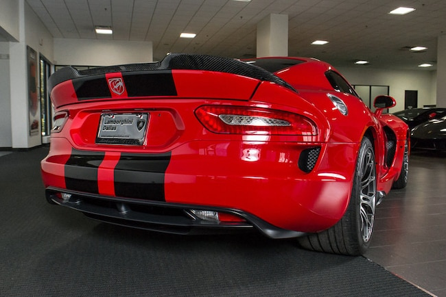 Used 2013 Dodge Viper For Sale Richardson Tx Stock
