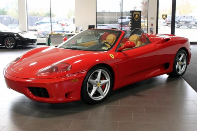 used 2003 ferrari 360 for sale richardson tx stock l0487 vin zffyt53a530134102. Black Bedroom Furniture Sets. Home Design Ideas