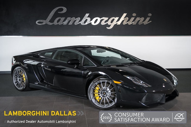 Pre-Owned 2013 Lamborghini Gallardo LP550-2 Coupe Dallas TX