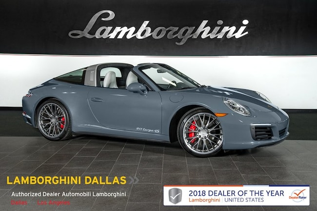 Pre-Owned 2017 Porsche 911 4S Targa Dallas TX
