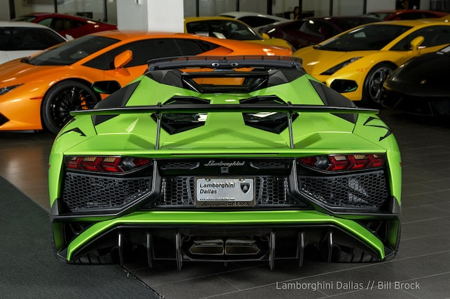 Used 2017 Lamborghini Aventador Sv For Sale Richardson Tx Stock