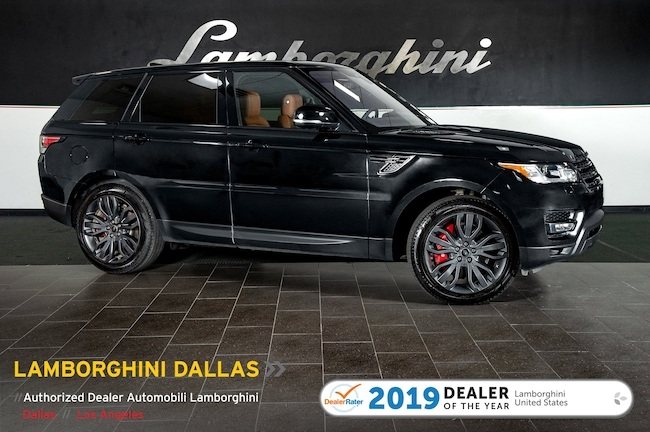 Pre-Owned 2017 Land Rover Range Rover Sport Supercharged SUV Dallas TX