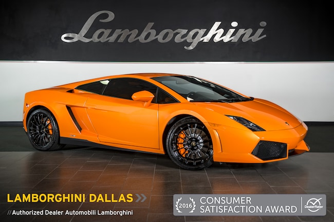 Pre-Owned 2013 Lamborghini Gallardo LP 550-2 Coupe Dallas TX