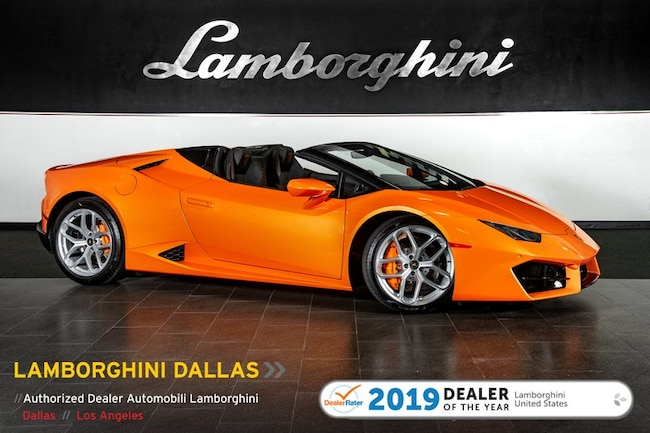 New 2019 Lamborghini Huracan LP580-2 Spyder near Dallas, TX