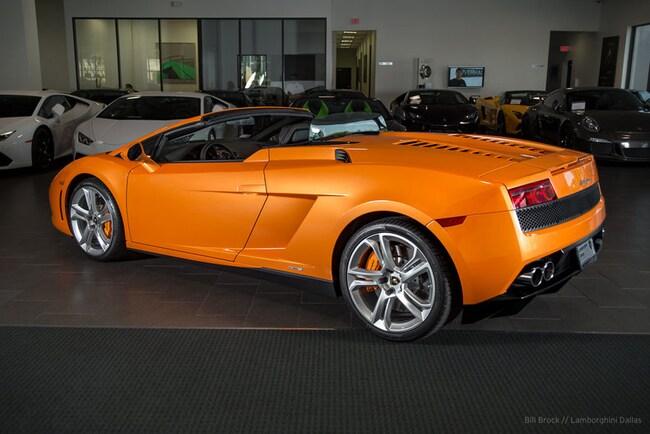 Used 2013 Lamborghini Gallardo For Sale Richardson Tx Stock