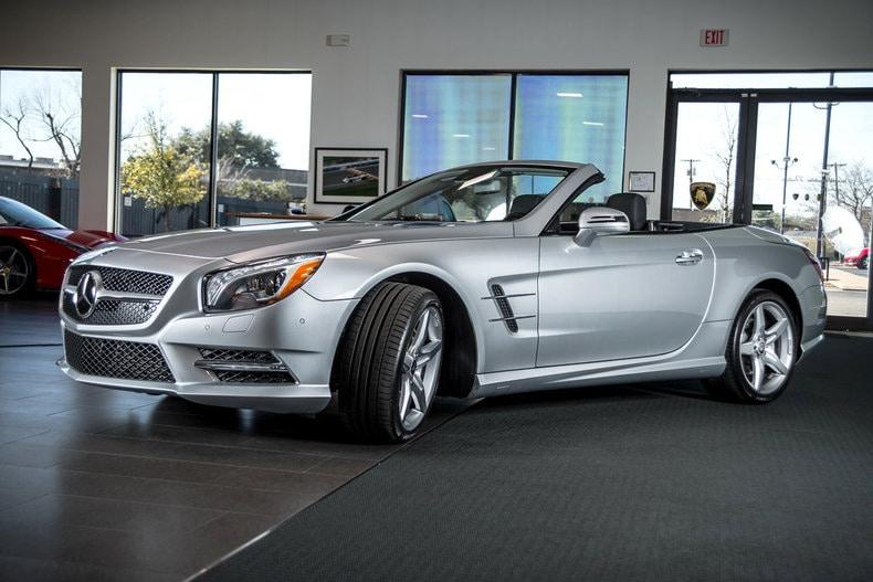 Used 2013 mercedes benz sl 550 for sale richardson tx for Mercedes benz dealership dallas texas