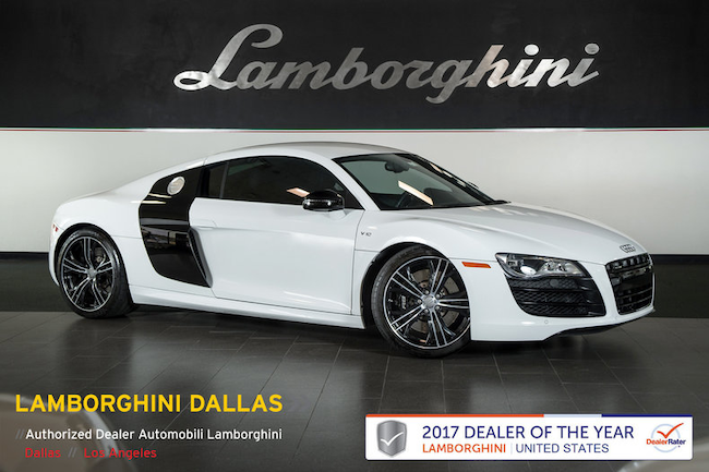 Used 2012 Audi R8 For Sale Richardsontx Stock Lc463 Vin